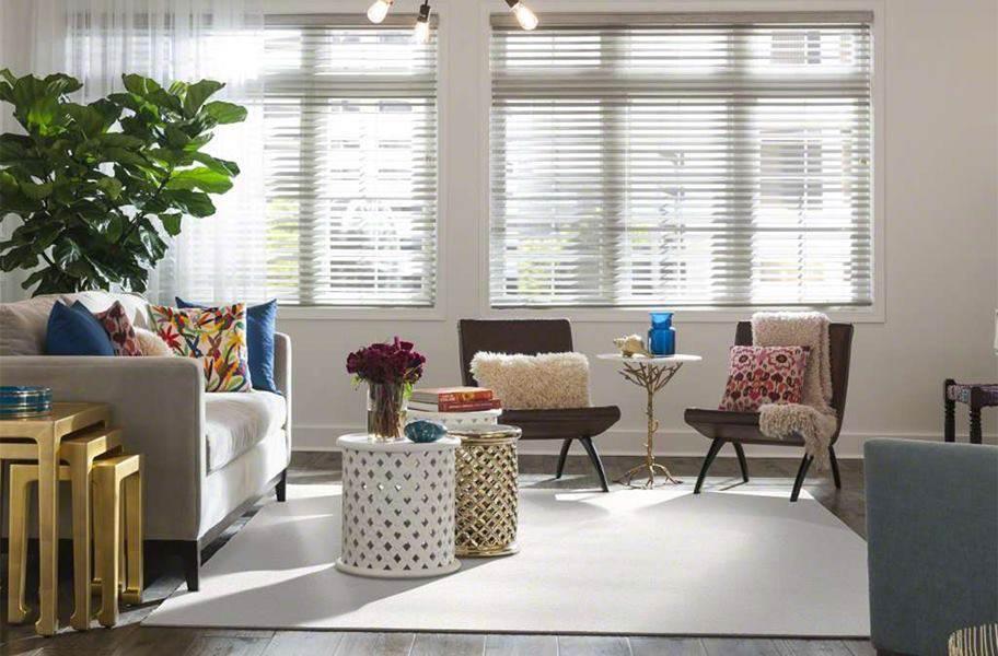 Shaw Floorigami Plume Perfect Carpet Tile - Dandelion
