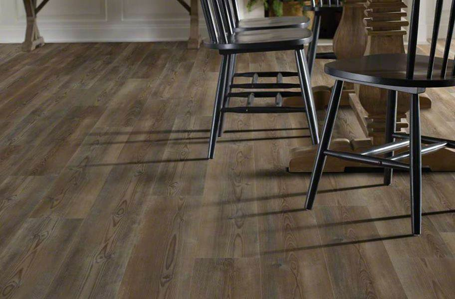 "Shaw Paragon Plus 7"" Rigid Core Vinyl Planks - Ripped Pine"