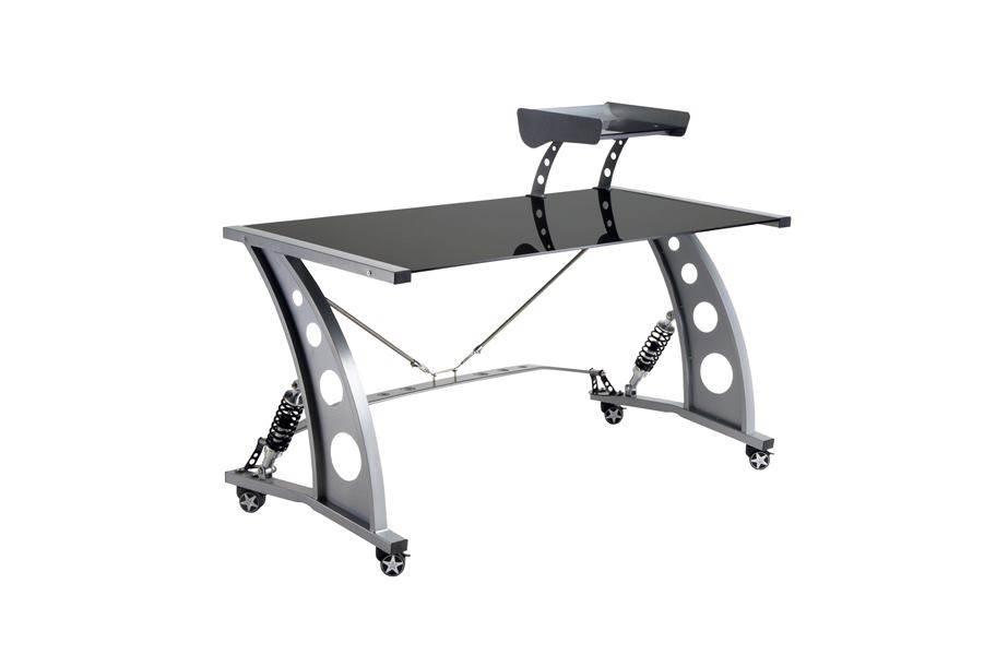 PitStop GT Spoiler Desk - Black