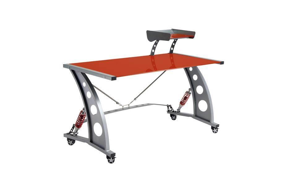 PitStop GT Spoiler Desk - Red