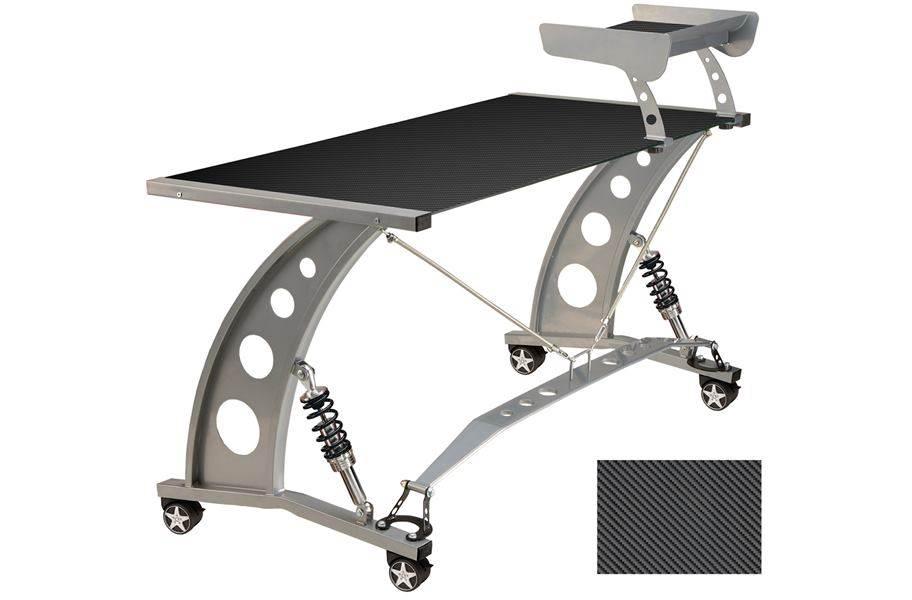 PitStop GT Spoiler Desk - Carbon Fiber