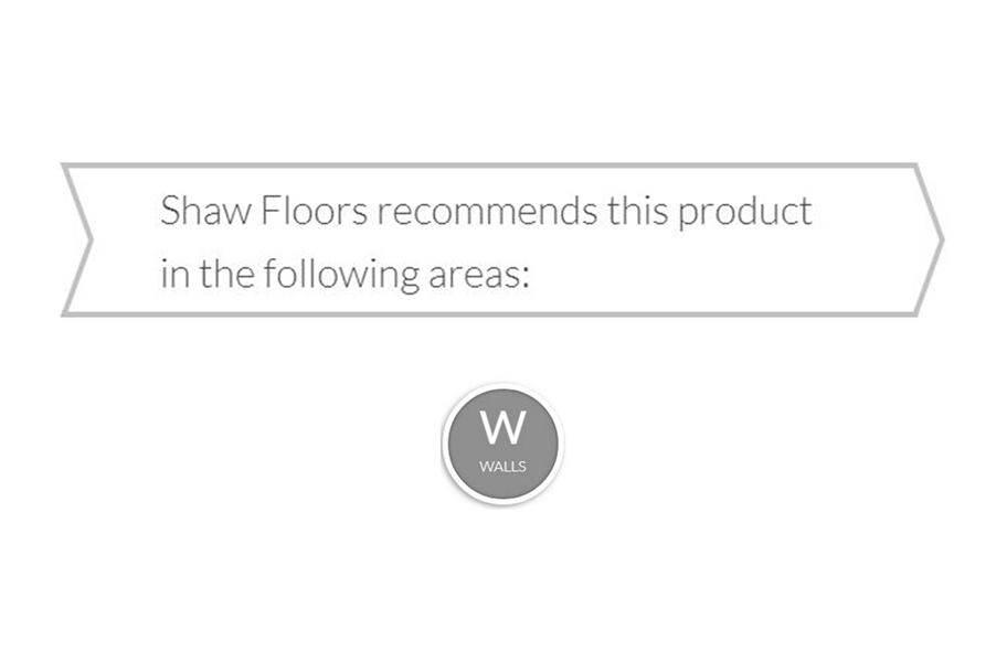 """Shaw Rhythm 12"""" x 24"""" Wall Tile"""