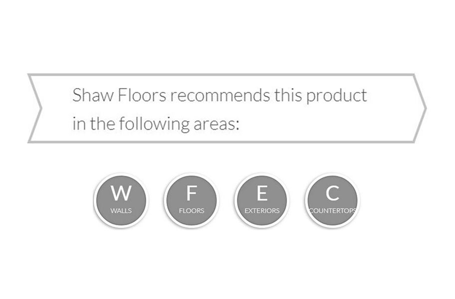 """Shaw Marlow Deco Mix 8"""" x 8"""""""