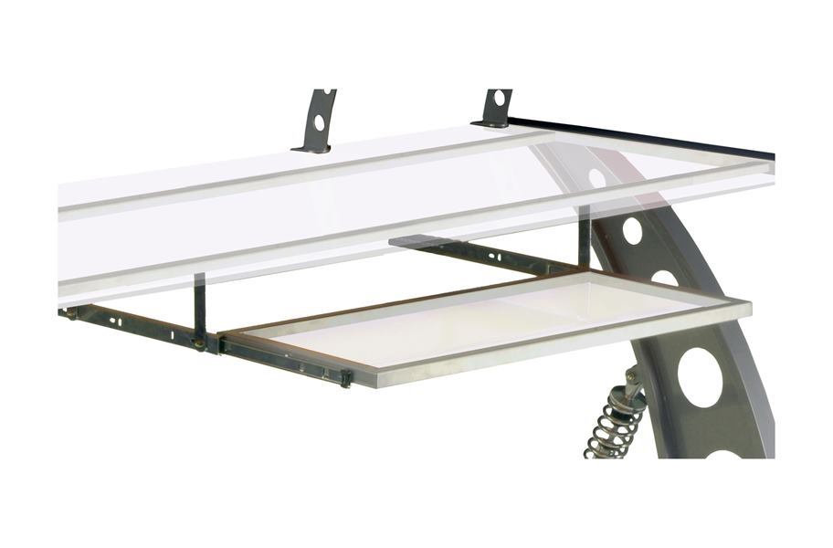 PitStop GT Spoiler Desk Pull Out Tray - Clear