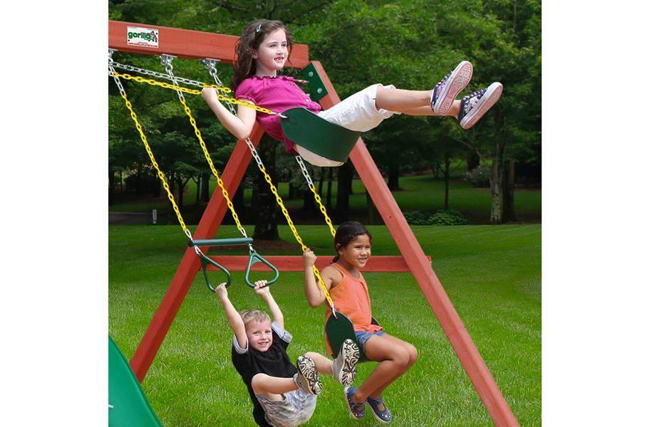 Nantucket Wooden Swing Set