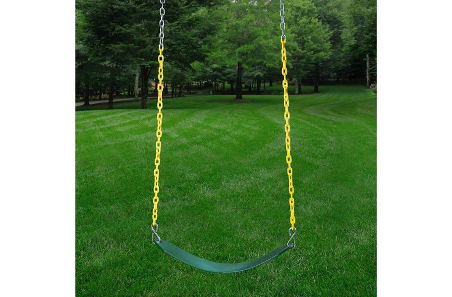 Double Down Wooden Swing Set