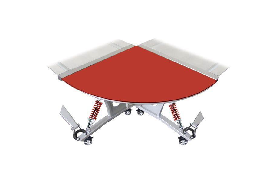 PitStop GT Spoiler Desk Connector - Red