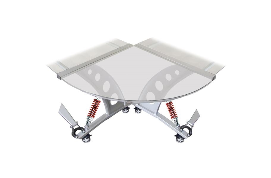 PitStop GT Spoiler Desk Connector - Clear