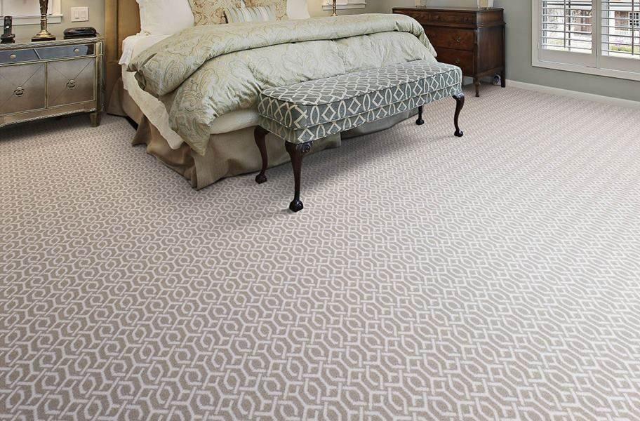 Joy Carpets Ornamental Carpet - Taupe