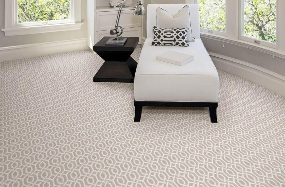 Joy Carpets Ornamental Carpet - Ivory