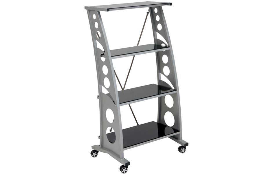 PitStop Chicane Bookshelf - Black
