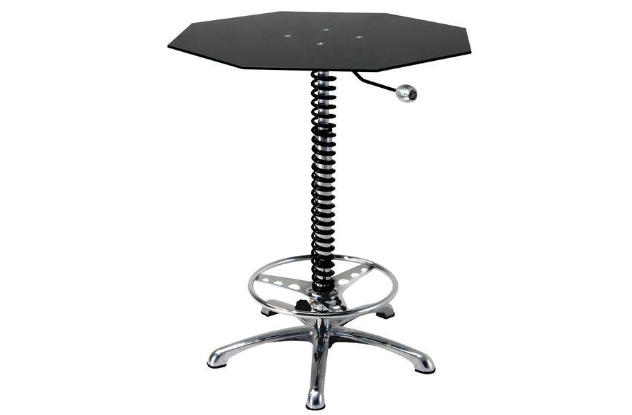 PitStop Crew Chief Bar Table - Black