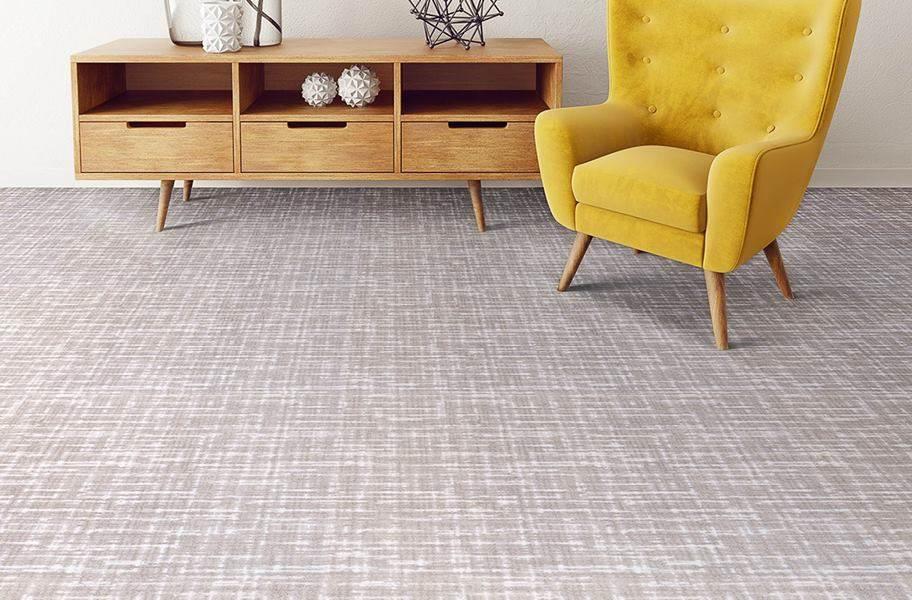 Joy Carpets Past Tense Carpet - Dove