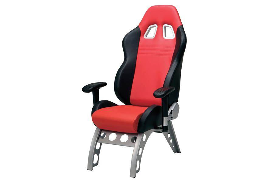 PitStop GT Receiver Chair - Silver