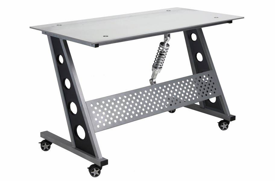 PitStop Compact Desk - Clear