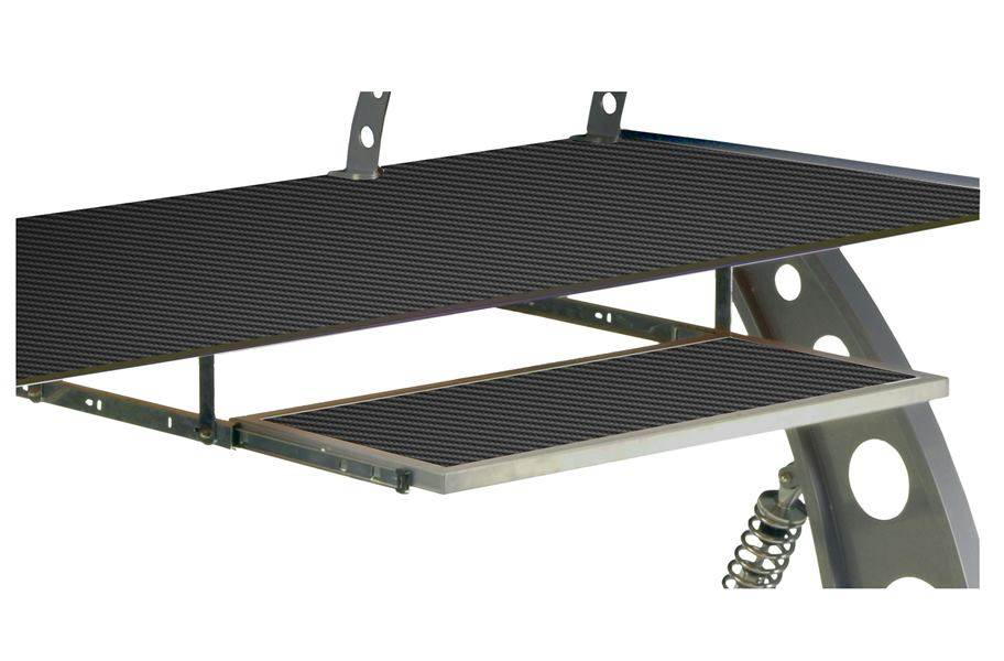 PitStop GT Spoiler Desk Pull Out Tray - Carbon Fiber