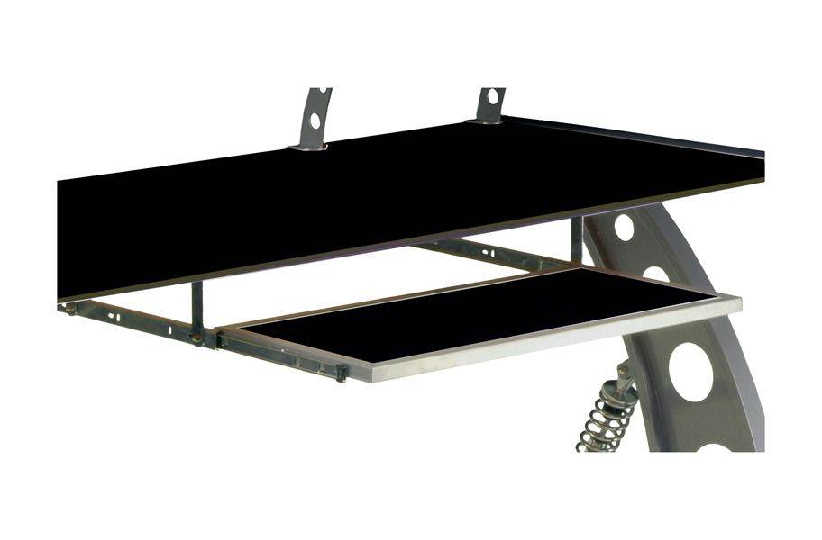 PitStop GT Spoiler Desk Pull Out Tray - Black
