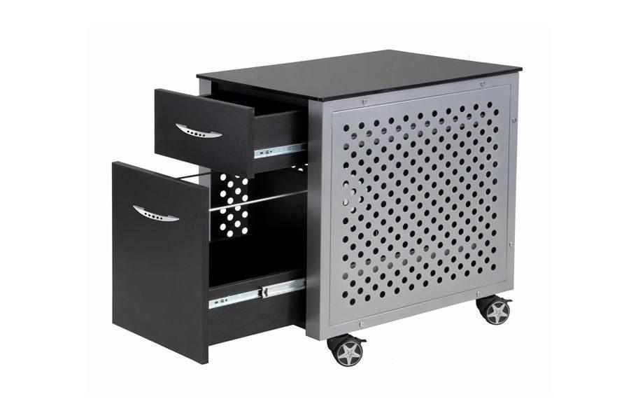 PitStop File Cabinet - Black