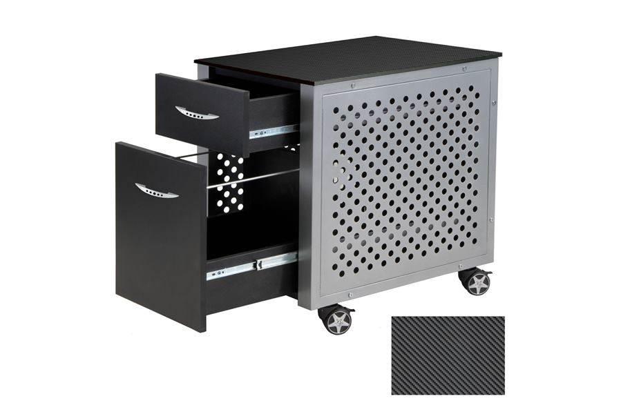 PitStop File Cabinet - Carbon Fiber