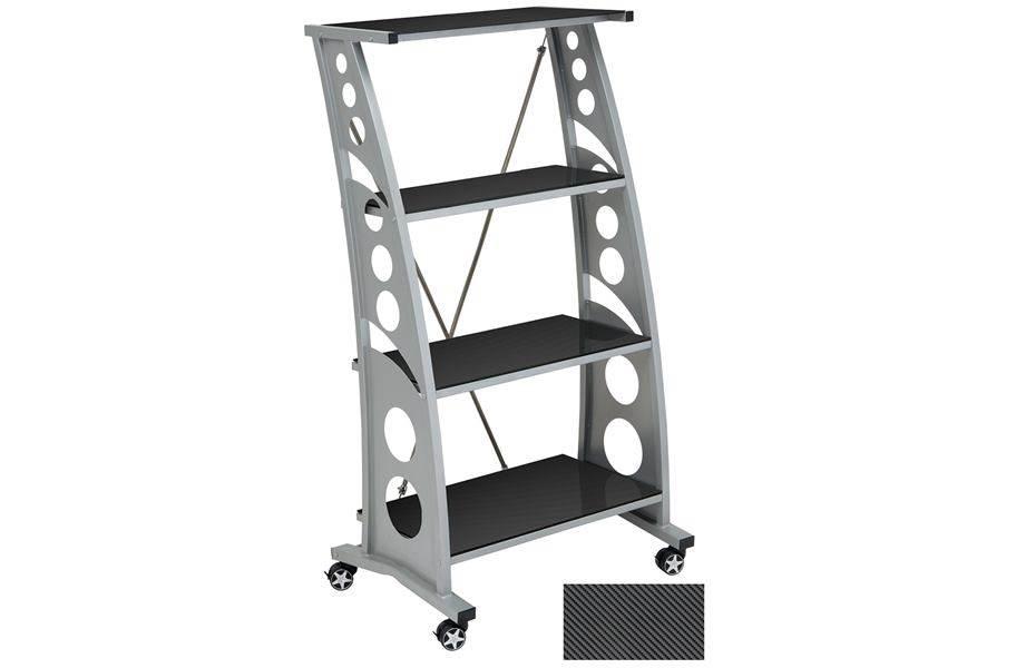 PitStop Chicane Bookshelf - Carbon Fiber