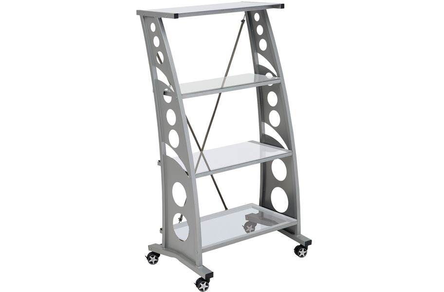 PitStop Chicane Bookshelf - Clear