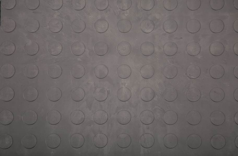 Eco Flex Tiles - Coin Dark Gray