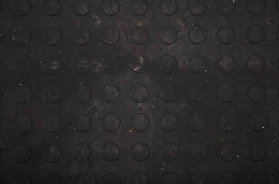 Eco Flex Tiles - Coin Black