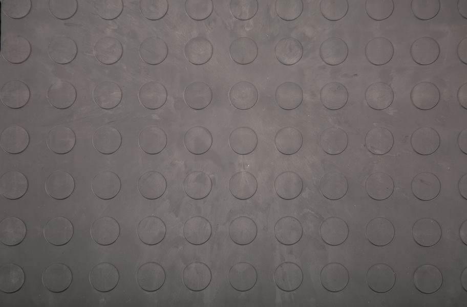 Eco Flex Tiles - Coin Dark Gray
