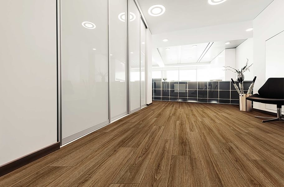 COREtec Pro Plus Enhanced Rigid Core Vinyl Planks - Rocca Oak