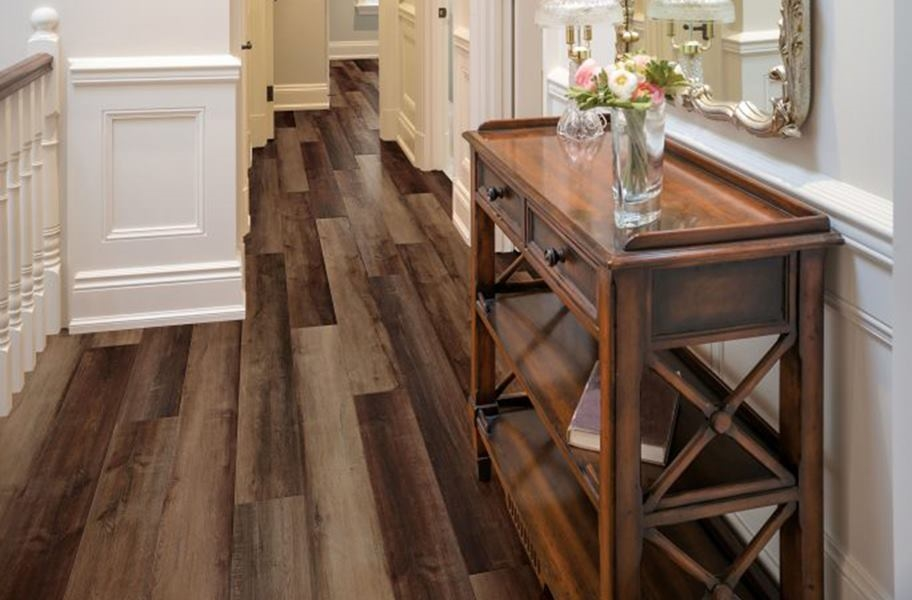 COREtec Plus Enhanced Waterproof Planks - Canary Oak
