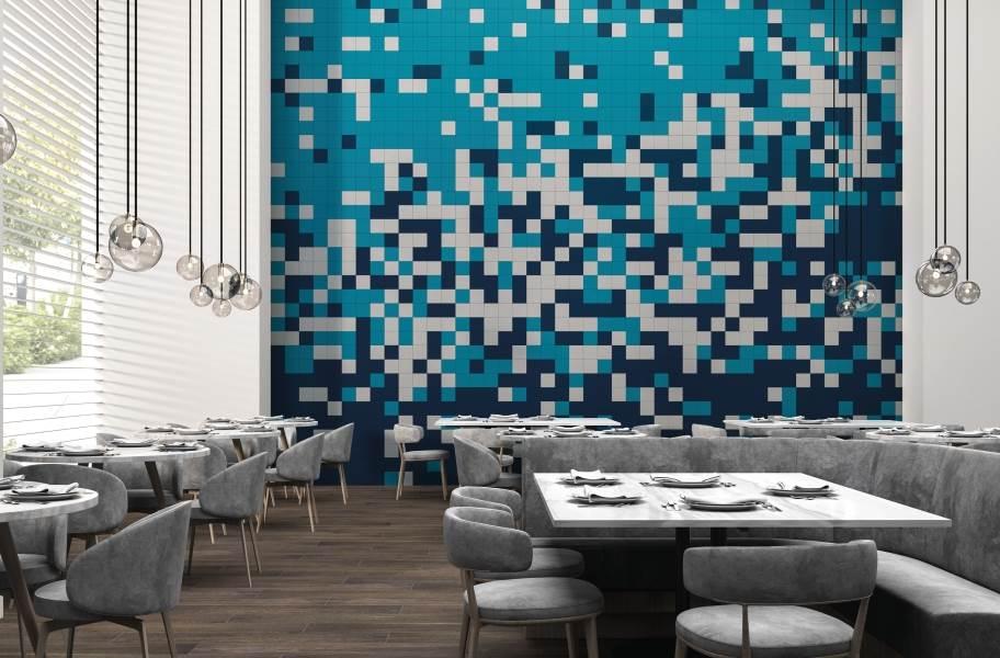 Daltile Color Wheel Wall Tile - Ocean Blue, Galaxy, Desert Gray