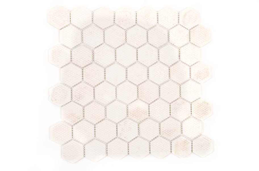 Daltile Vintage Hex Glass Mosaic - Back