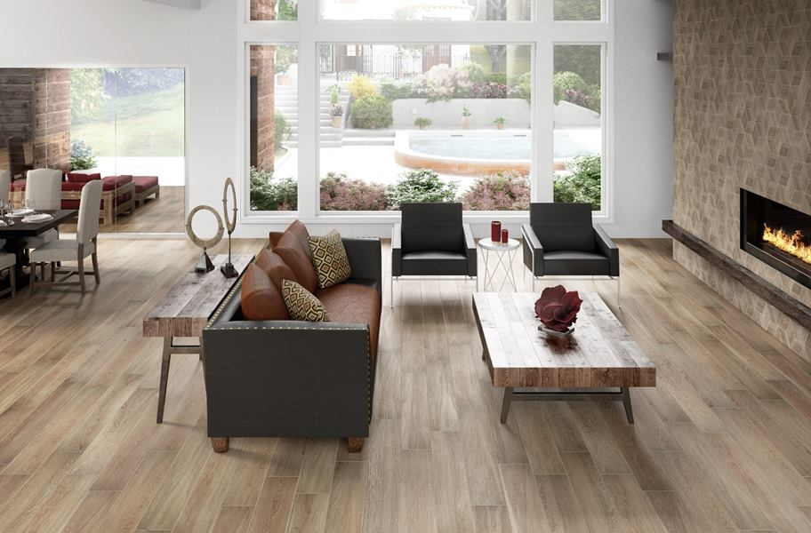 Daltile Emerson Wood - Butter Pecan
