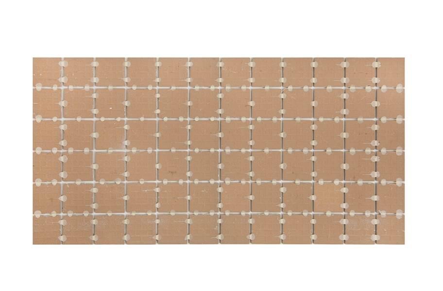 Daltile Linden Point Mosaic - Back of Tile
