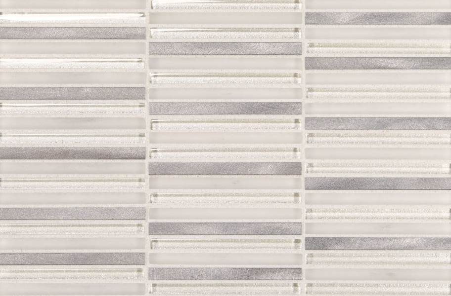 Daltile Lucent Skies Glass Mosaic - Celestial Winter