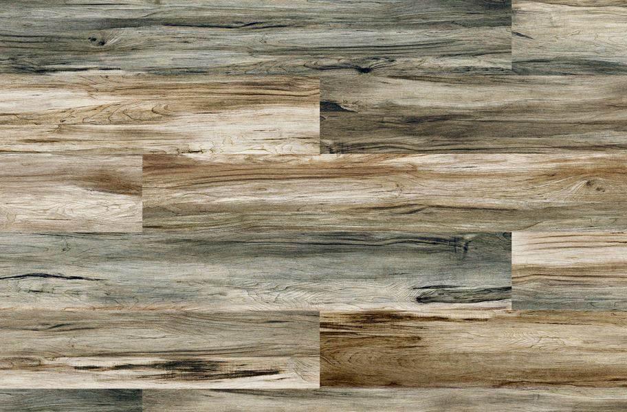 Cushion Grip Vinyl Planks - Mariner's Teak