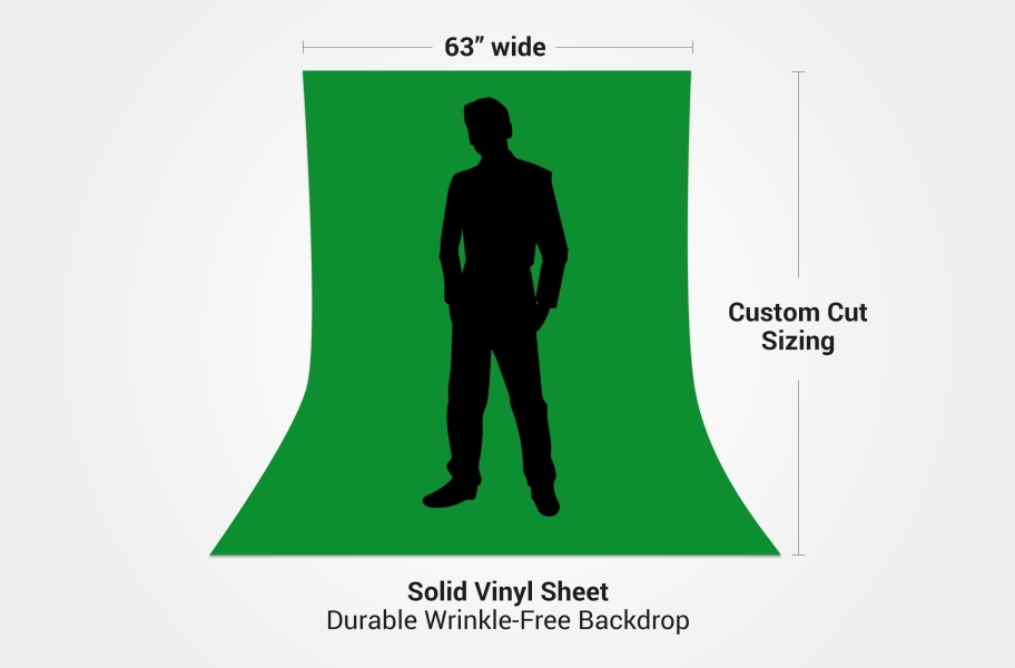 Chroma Key Floor - Custom Cut