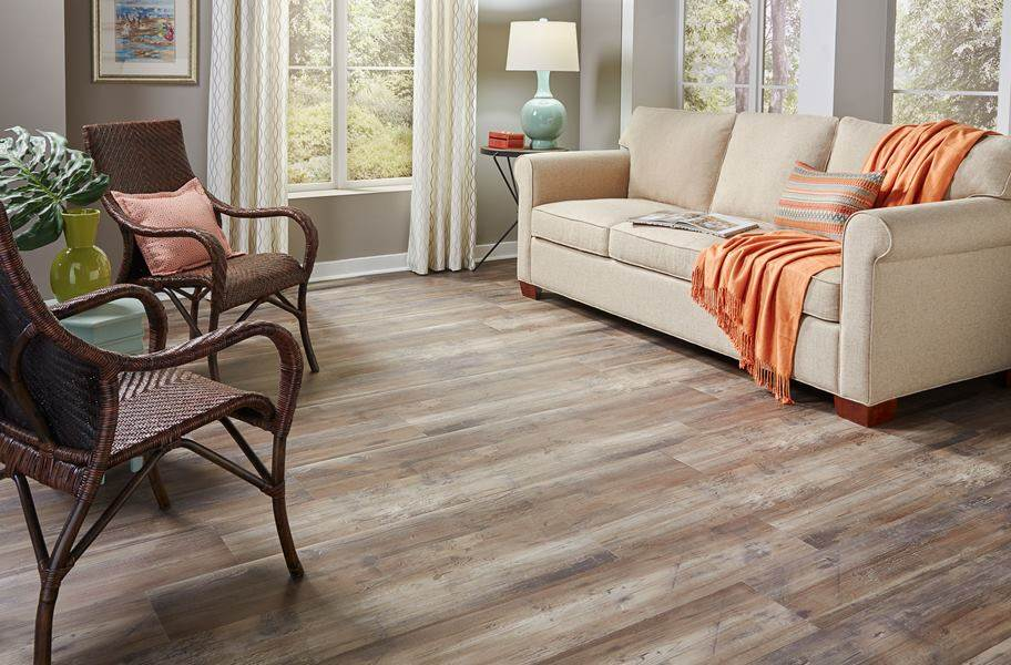 "Dixie Home 9"" XL Waterproof Vinyl Plank - Sequoia"
