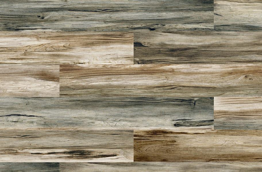 Cushion Grip Vinyl Planks - Mariner's Teak