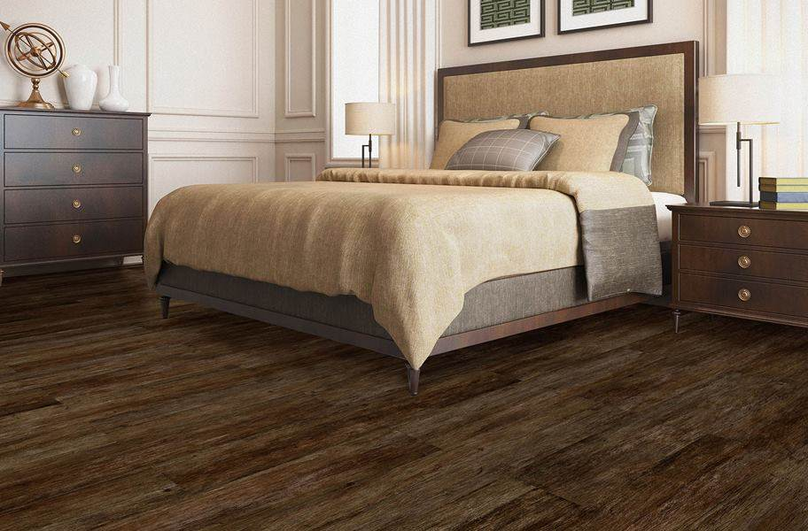 Cushion Grip Vinyl Planks - Ranchwood