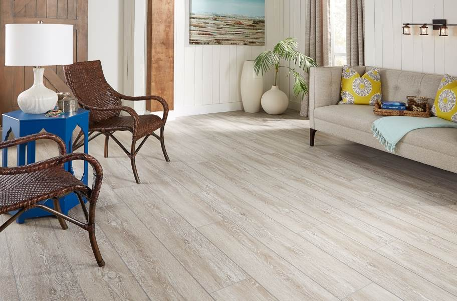 "Masland 9"" Waterproof Vinyl Planks - French Alps"