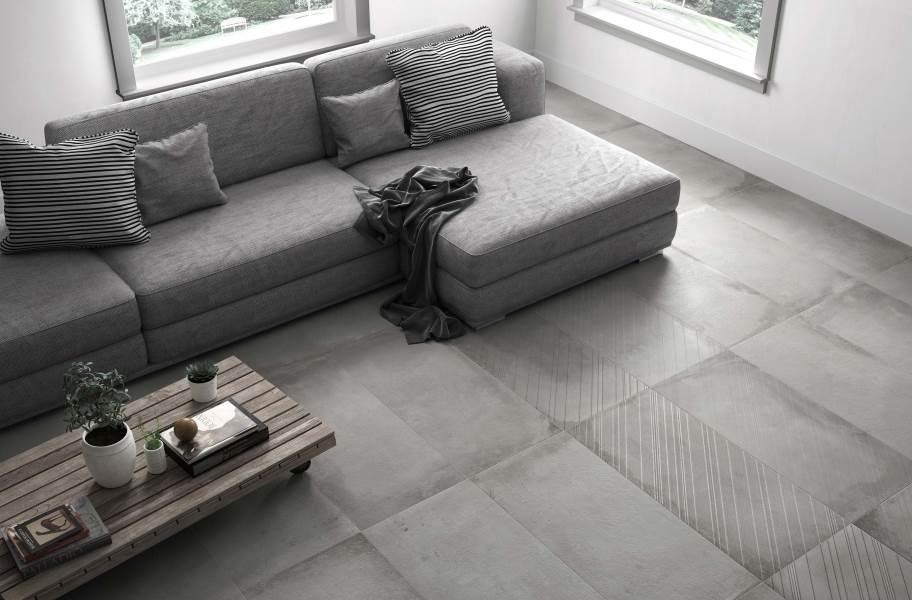 Emser Tile Borigni Diagonal - Gray