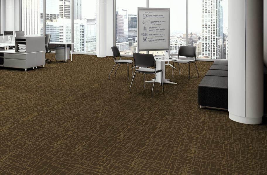 EF Contract Control Carpet Tiles - Paste