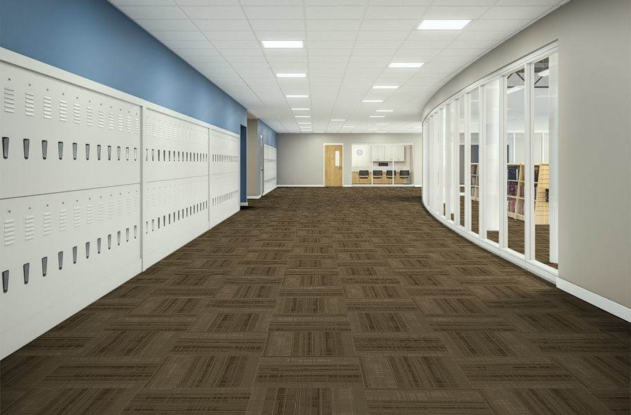 EF Contract District Carpet Tiles - Threshold