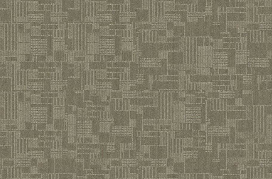EF Contract Checkmate Carpet Tiles - Cottonwood