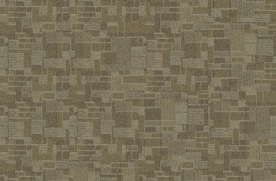EF Contract Checkmate Carpet Tiles - Metal Mesh