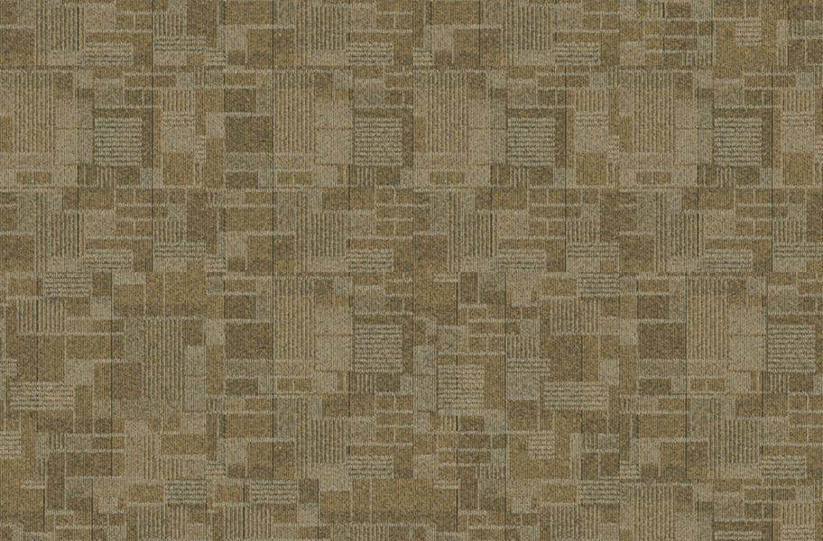 Checkmate Carpet Tiles - Satin Gold