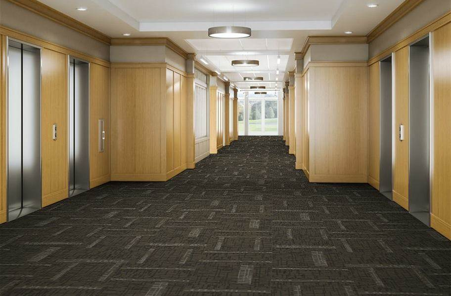 EF Contract Control Carpet Tiles - Command
