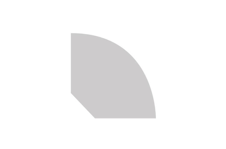 """Masland 0.71"""" x 0.71"""" x 94"""" Quarter Round"""