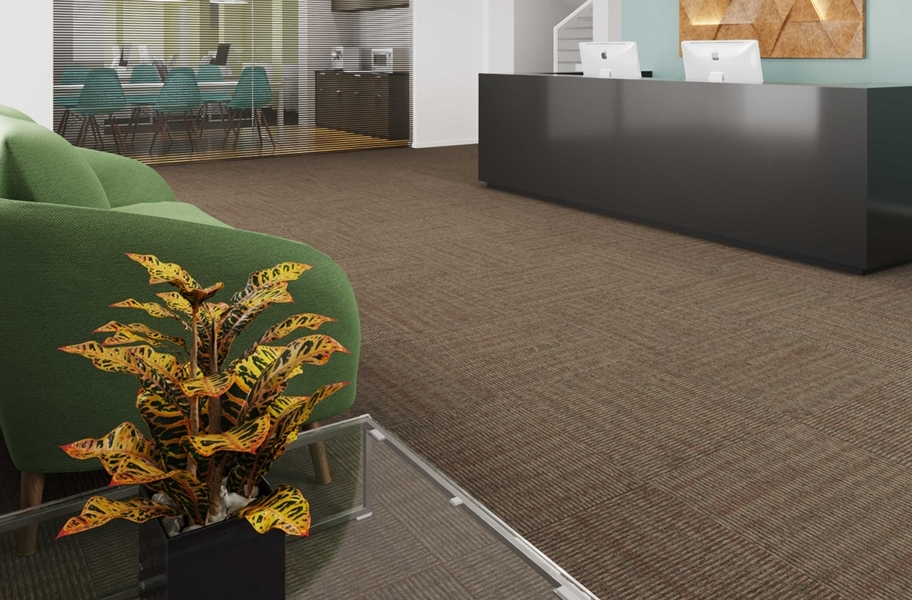 Pentz Sidewinder Carpet Tiles - Indian Paint